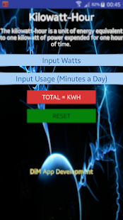 Solar kWh Calculator - screenshot
