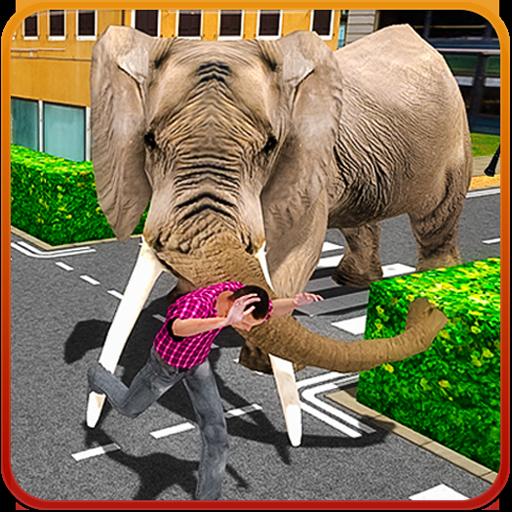 3D Wild Elephant - City Rampage (game)