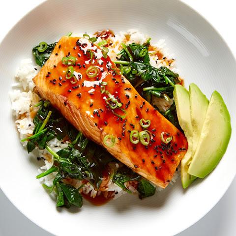 Easy Teriyaki Salmon Rice Bowl Recipe