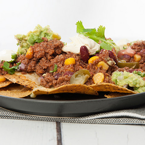 Kid Friendly Thermomix Mexican Chili Nachos