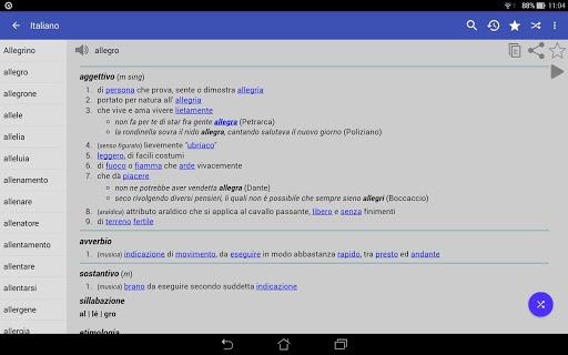 Italian Dictionary - Offline screenshot 9