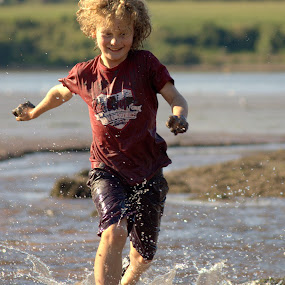 River Running by Alex Graeme - Babies & Children Children Candids