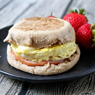 5-minute homemade egg McMuffin