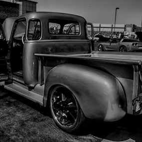 Old Chevy by Sean Marquantte - Transportation Automobiles ( truck, chevrolet, denver, car show,  )