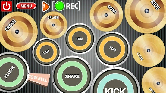 Real drum with voice - screenshot