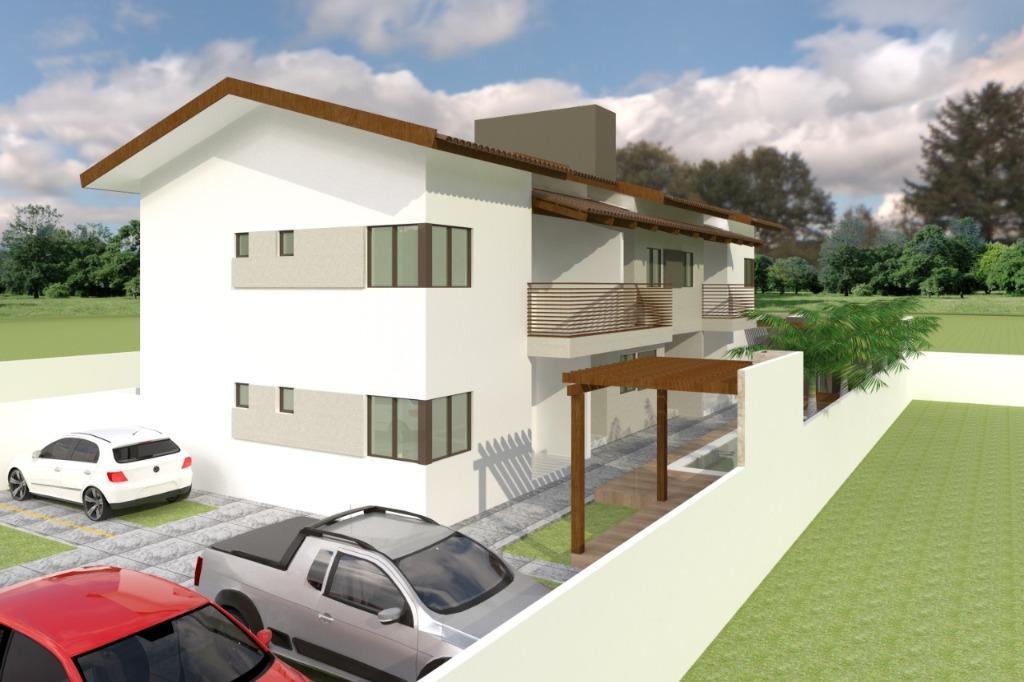 Apartamento com 2 dormitórios à venda, 48 m² por R$ 140.000,00 - Village Jacumã - Conde/PB