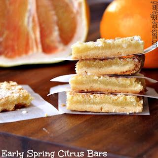 Early Spring Citrus Bars