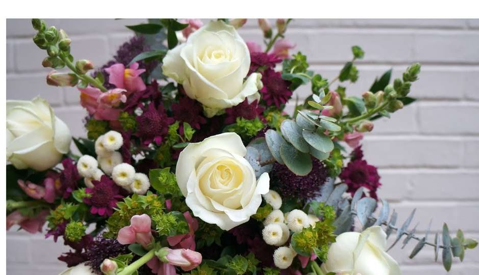 Bridal bouquet by Jo The florist - independent florist based in Kent