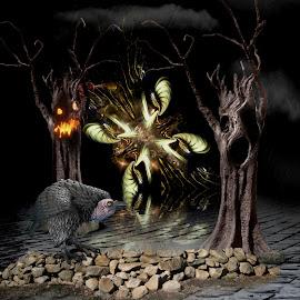by FUJIFILM X T-20 - Illustration Sci Fi & Fantasy