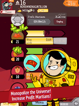 AdVenture Capitalist APK screenshot thumbnail 15