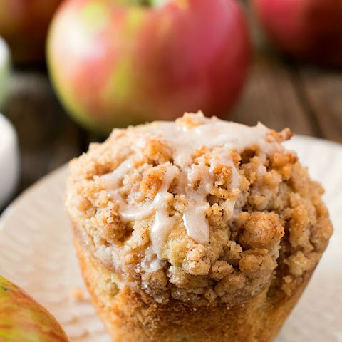 Spiced Apple Coconut Muffins