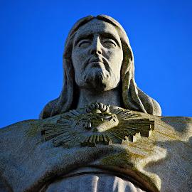King Christ  by João Pedro Loureiro - Buildings & Architecture Statues & Monuments