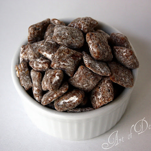 Muddy Buddies with Sunflower Seed Butter (aka Puppy Chow)