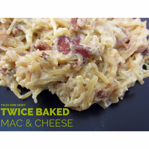 Twice Baked Macaroni and Cheese