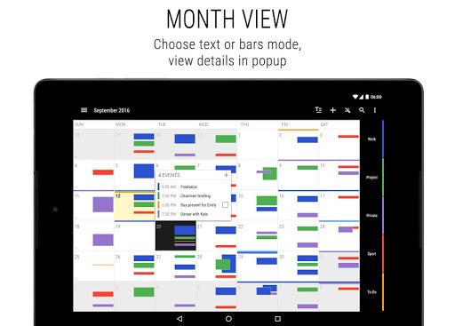 Business Calendar 2 screenshot 14