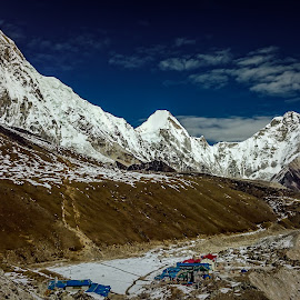 Mountain & Hills by Akashneel Banerjee - Instagram & Mobile Other ( mountain, himalaya, nature, trekking, ebc )