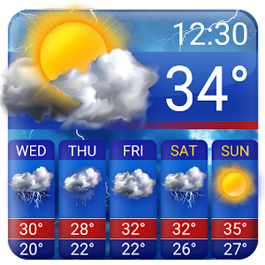 Free Weather Forecast App Widget For PC / Windows 7/8/10 / Mac – Free Download