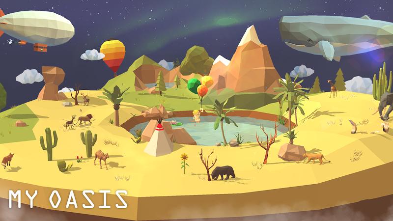 My Oasis - Calming and Relaxing Incremental Game Screenshot 14