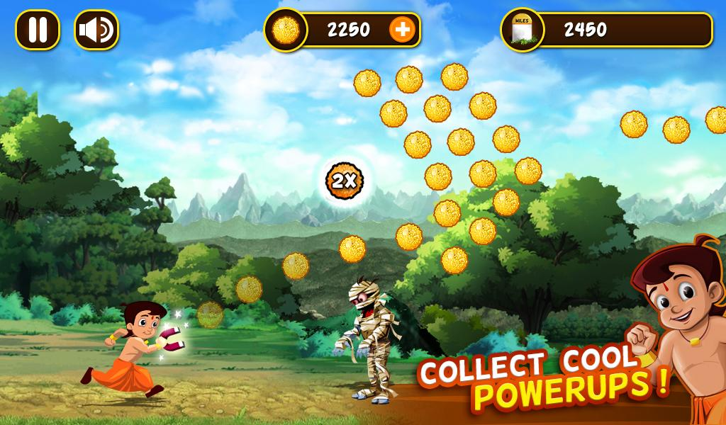 Chhota Bheem Jungle Run Screenshot 3