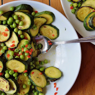 Courgette and Pea Salad GF SCD