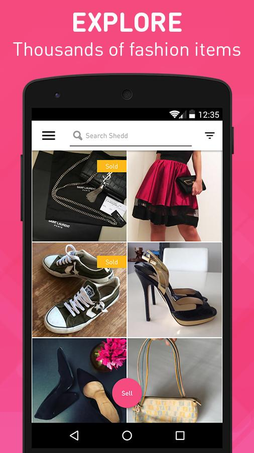 Shedd - Buy and Sell Fashion Screenshot 1