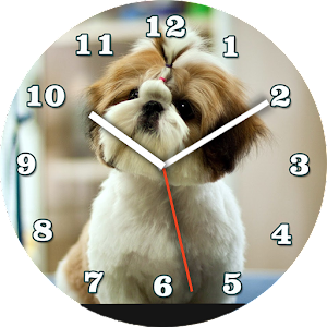 Cute Puppy Watch Face
