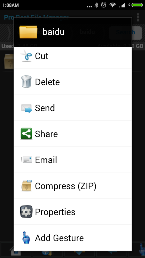 Pro Best File Manager Screenshot 7