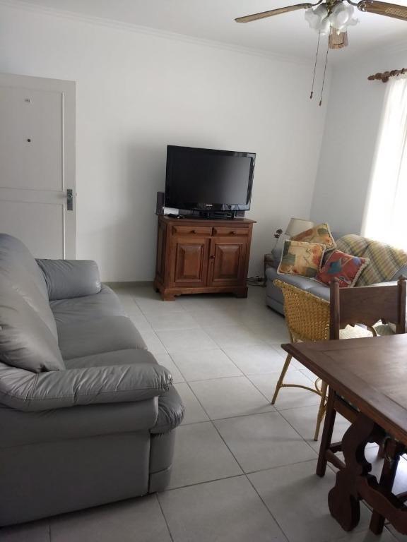 Apartamento com 3 dormitórios para temporada, 100 m² por R$ 450/dia - Centro - Guarujá/SP