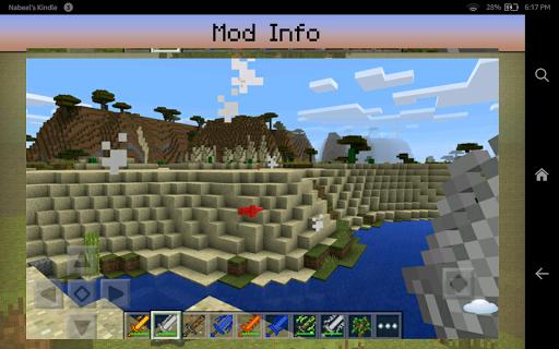 Swords Mod for Minecraft PE - screenshot
