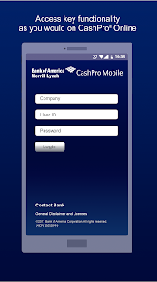 CashPro® screenshot for Android