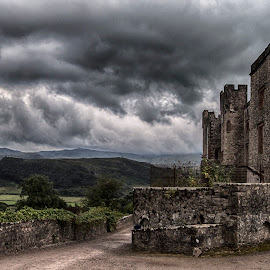 Muncaster Castle by Martyn Clarke-Jones - Buildings & Architecture Public & Historical ( moody, castle, landscape )