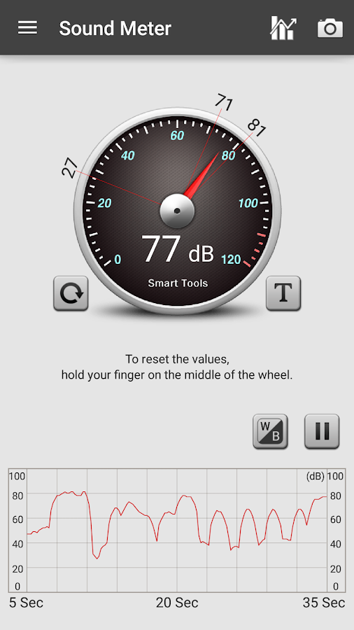 Sound Meter Pro Screenshot 1