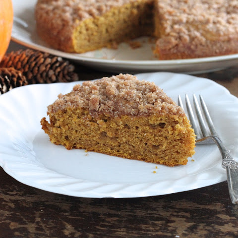 Pumpkin Coffee Cake W/Brown Sugar Streusel