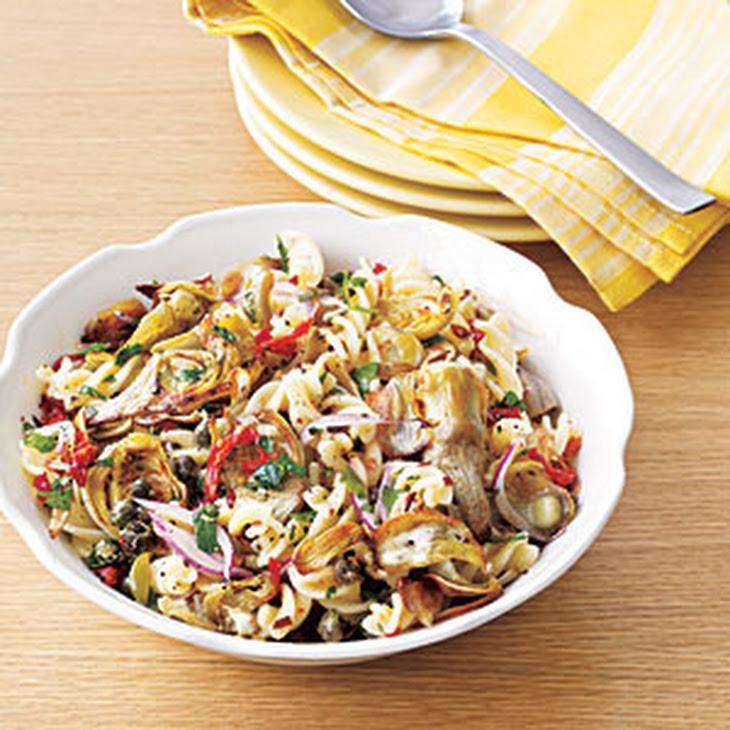 Artichoke and Sun-Dried Tomato Pasta Salad Recipe | Yummly