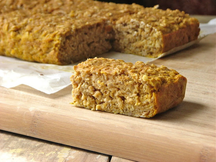 Banana Oat Breakfast Bars Recipe | Yummly