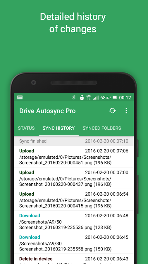 Autosync Google Drive Screenshot 6