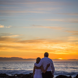 Wedding Bliss by Eugene Viljoen Photography - Wedding Bride & Groom ( wedding, sunrise )