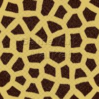Giraffe fur (set of 3)