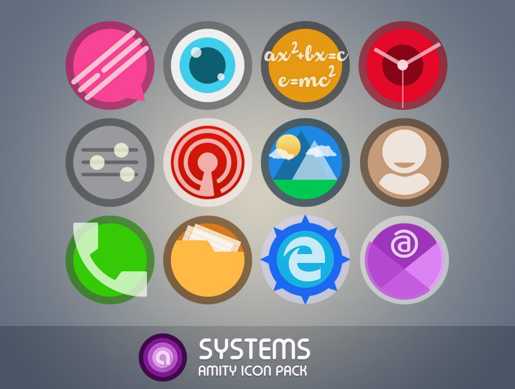 Amity Icon Pack Screenshot 1
