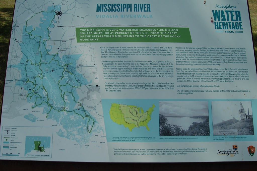 One of the longest rivers in North America, the Mississippi flows 2,340 miles from Lake Itasca, Minn., to the Gulf of Mexico 100 miles below New Orleans, and its floodplain encompasses more than 30 ...