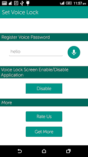 App Voice Screen Lock apk for kindle fire