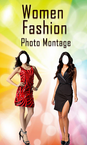 android Women Fashion Photo Montage Screenshot 0