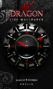HD Analog Clock Bundle LWP 2 - screenshot