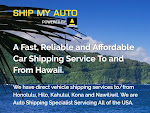 Shipping Car From Hawaii