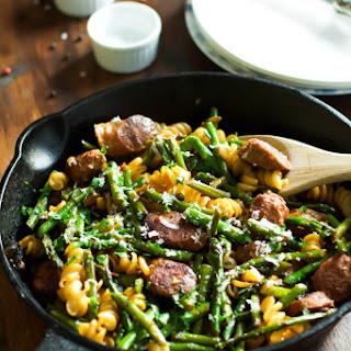 Asparagus Sausage Pasta Recipes