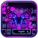 Butterfly Heart Keyboard Theme Icon