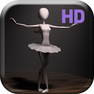 Ballet Dancer HD Live Wallpap