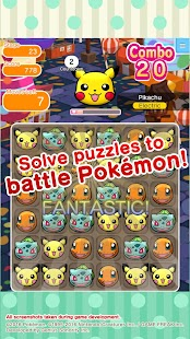 Pokémon Shuffle Mobile- screenshot thumbnail