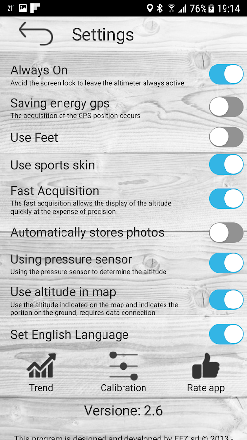 Altimetro - altimeter pro Screenshot 3