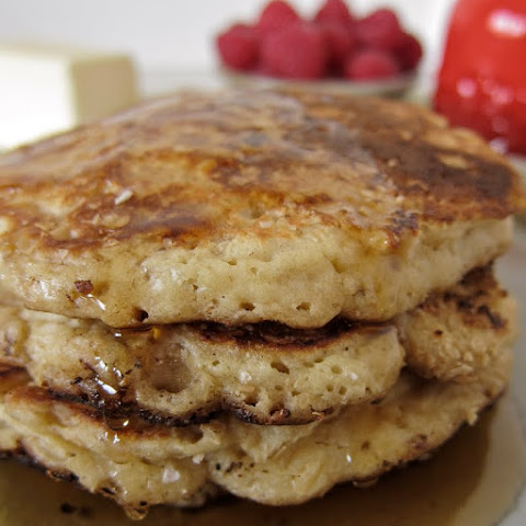 Maple Oat Pancakes